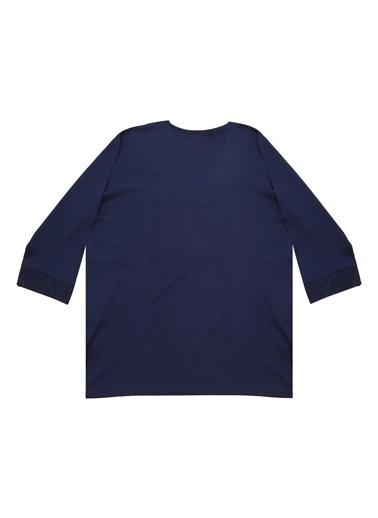 Selen Bluz Lacivert